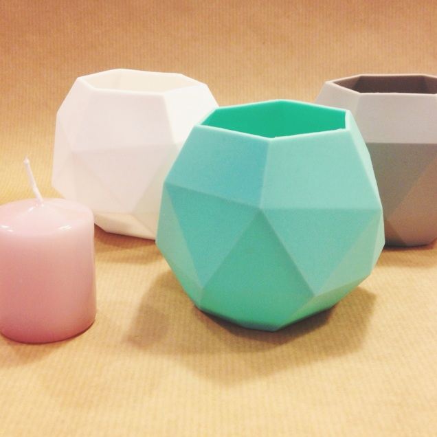 KG Design's lovely silicone tealight holders