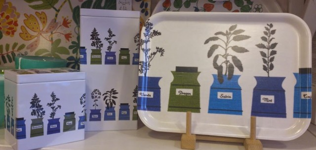 Almdahls Herb Garden is a pretty gift for the kitchen! Love it!