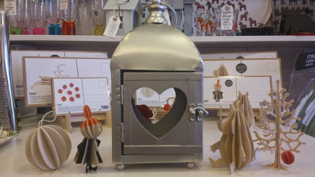 Beautiful LOVI here with a heart warming tealight holder by Danish KJ Collection