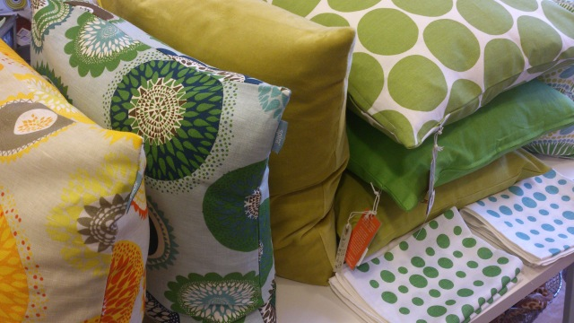 Oh love all these new cushions by Spira and Linum.