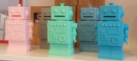KG Design Robot Moneybanks
