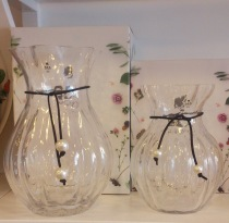 Sea Glasbruk Pearl Vases